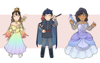 [GIFT] Fancy Kids! by mouth-off