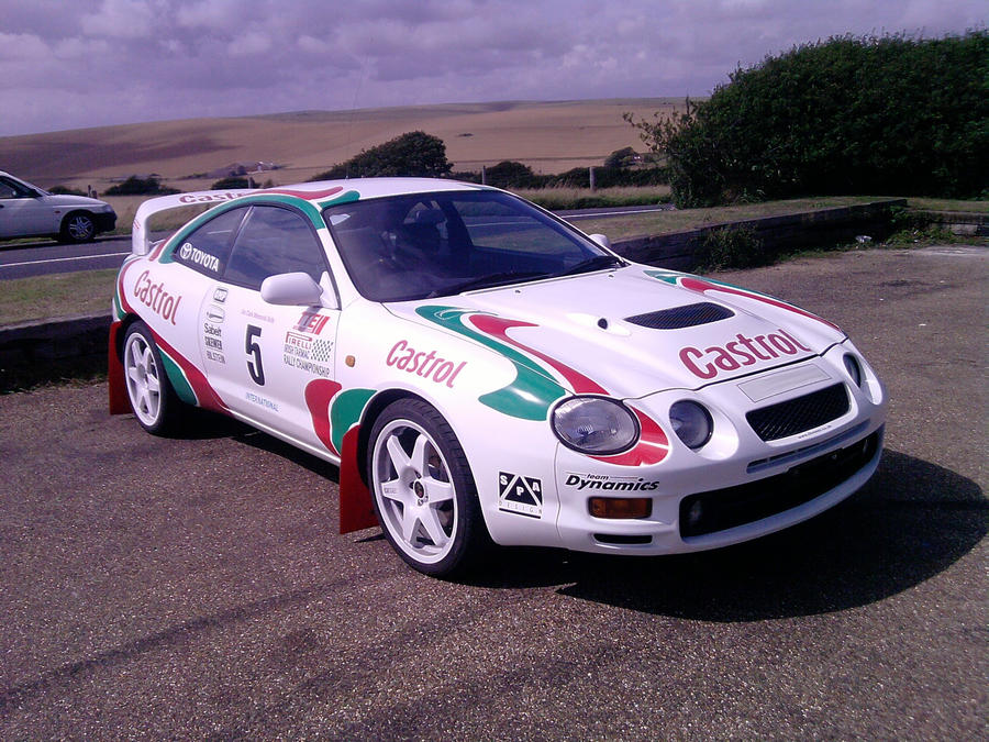 Toyota Celica Rally Car by stock-666-nymph on DeviantArt