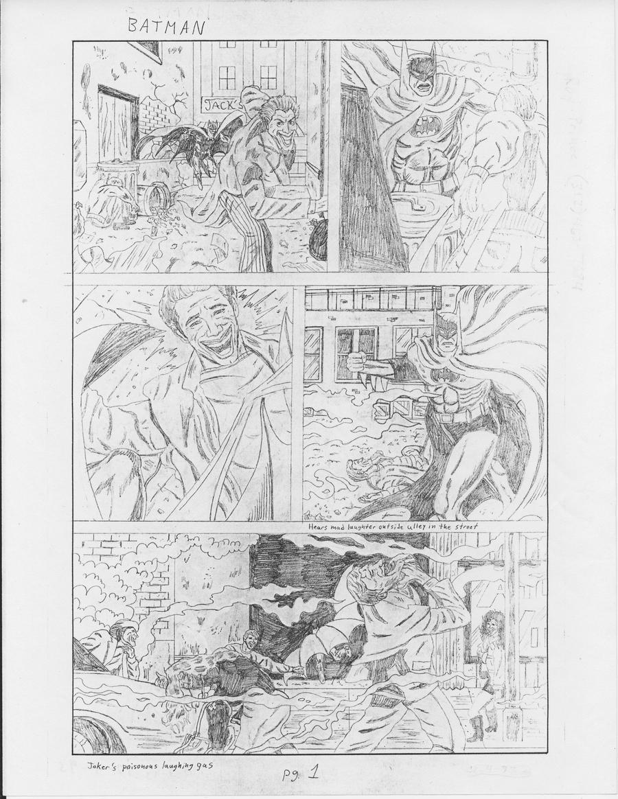 Batman vs. Joker page 1 by RoyPrince