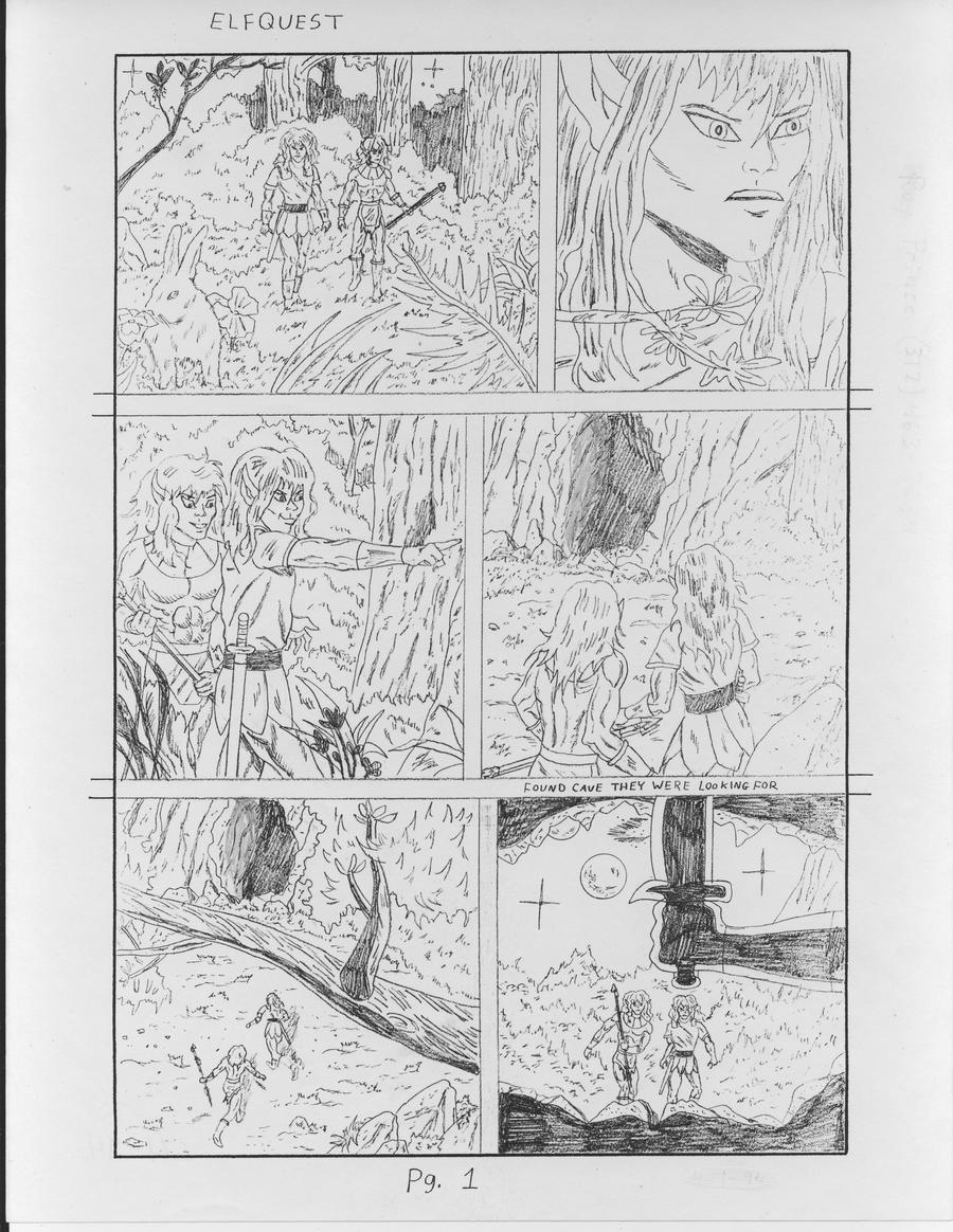 Elfquest page 1 by RoyPrince