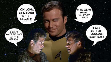 Capt. Kirk - Hard To Be Humble by RoyPrince