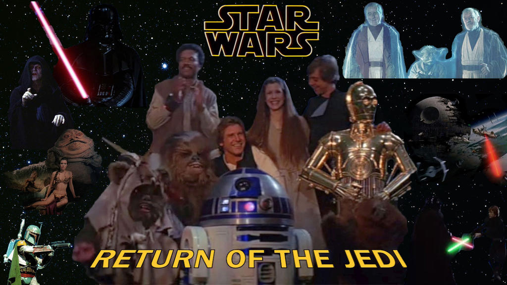 Star Wars - Return Of The Jedi by RoyPrince