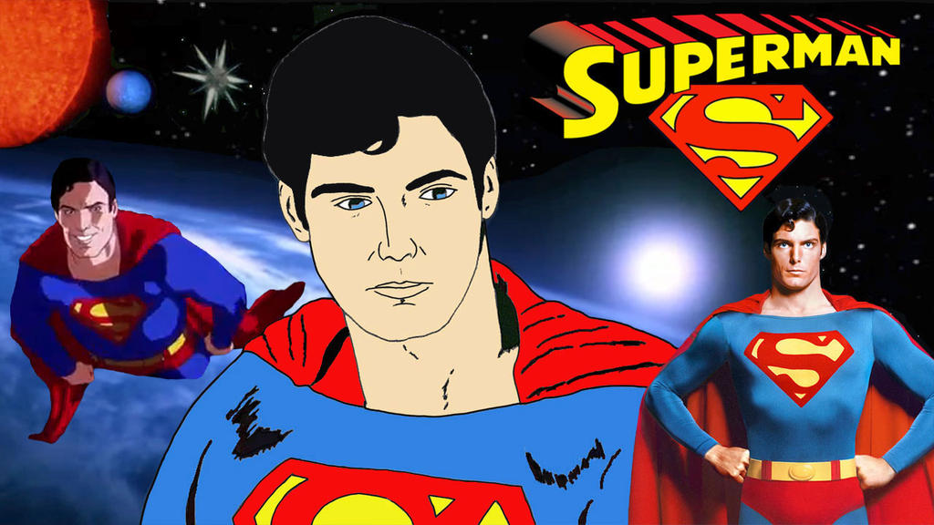 Superman (Christopher Reeve) by RoyPrince