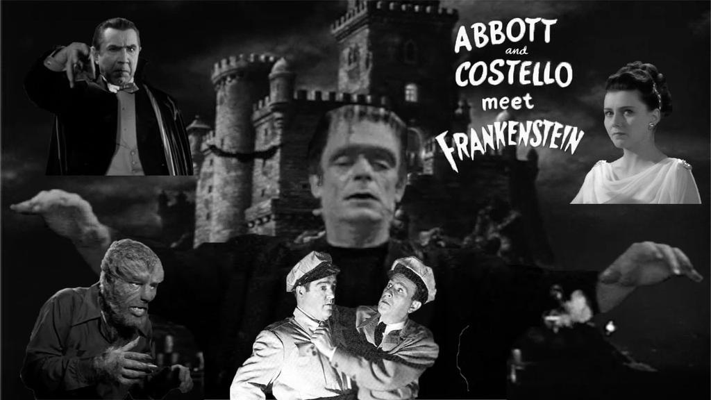 Abbott And Costello Meet Frankenstein (Photoshop) by RoyPrince