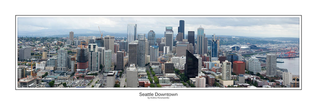 seattle panoramic 1 by photoboy1002001 on deviantart seattle downtown panorama by aponom on deviantart 669