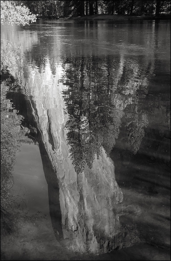 Merced river, El Capitan by aponom