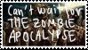 Zombie Apocalypse Stamp by RainPetals