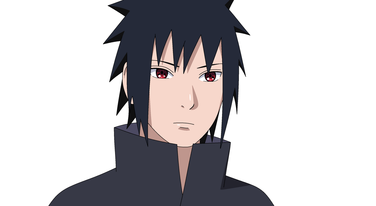 Sasuke Uchiha Post-War ~Sharingan~ By UchihaClanAncestor