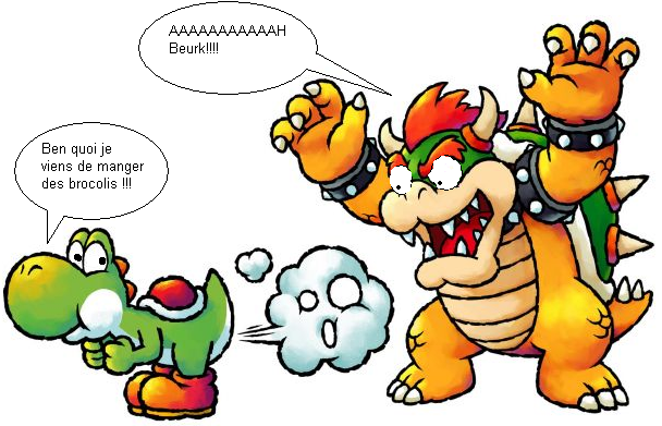 Bowser and Yoshi by TheUnsentLaugh on DeviantArt |Bowser Loves Yoshi