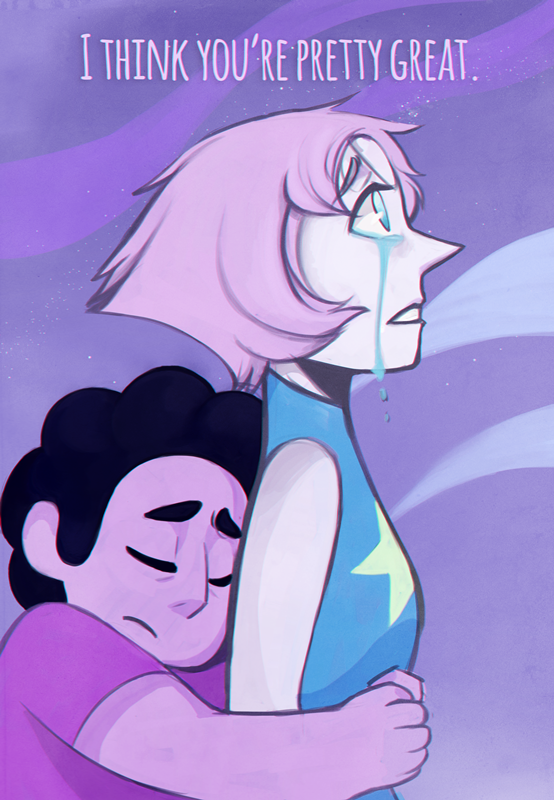 feels bruh. inspired this speedpaint by this fanmade steven universe lyrics faeriefountain.tumblr.com/post…