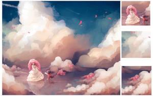 Steven universe - Rose and Steven by uzuluna