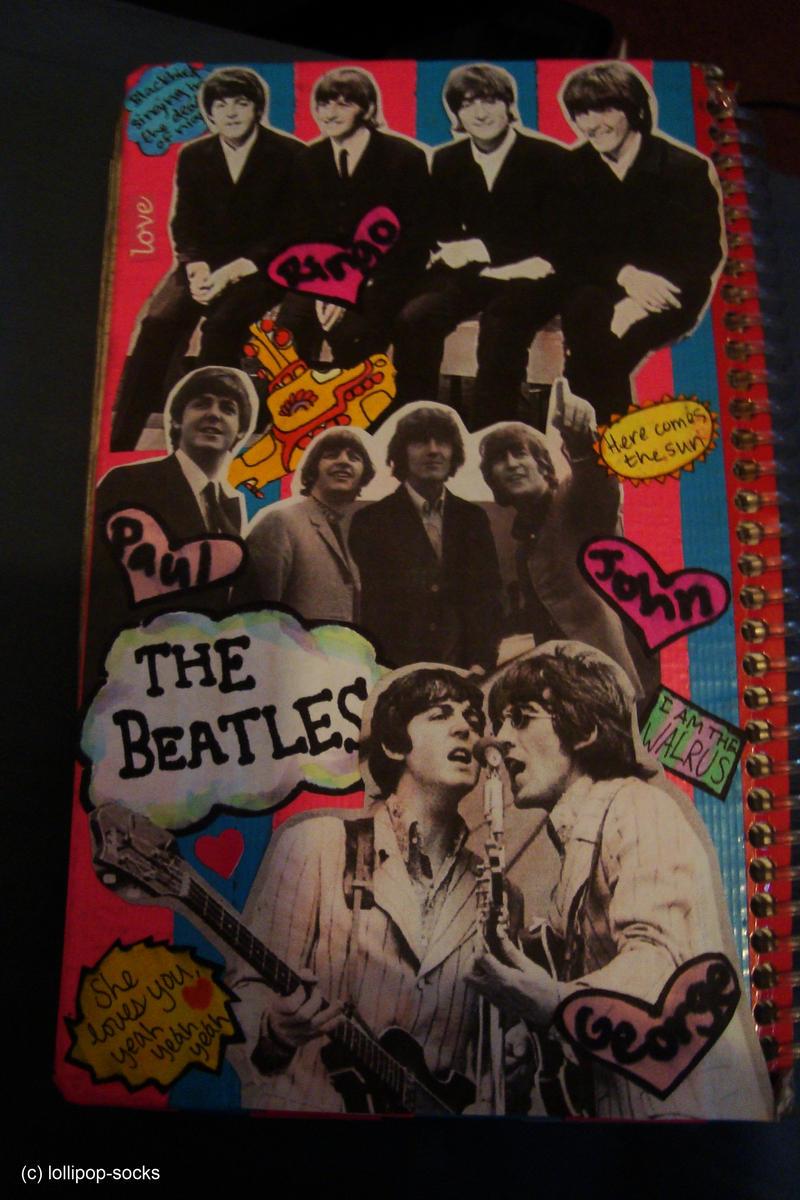 School planner side 1: Beatles by lollipop-socks