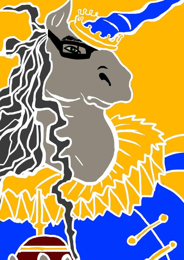 Unicorn King by tormentedshadow