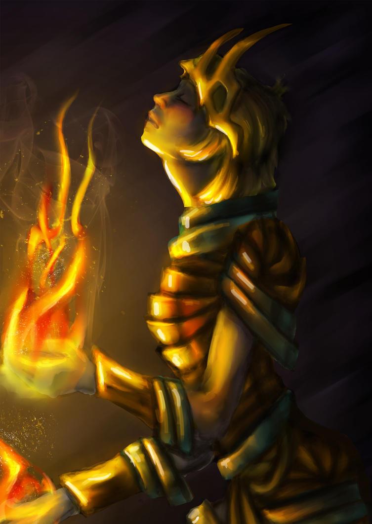 Golden by tormentedshadow