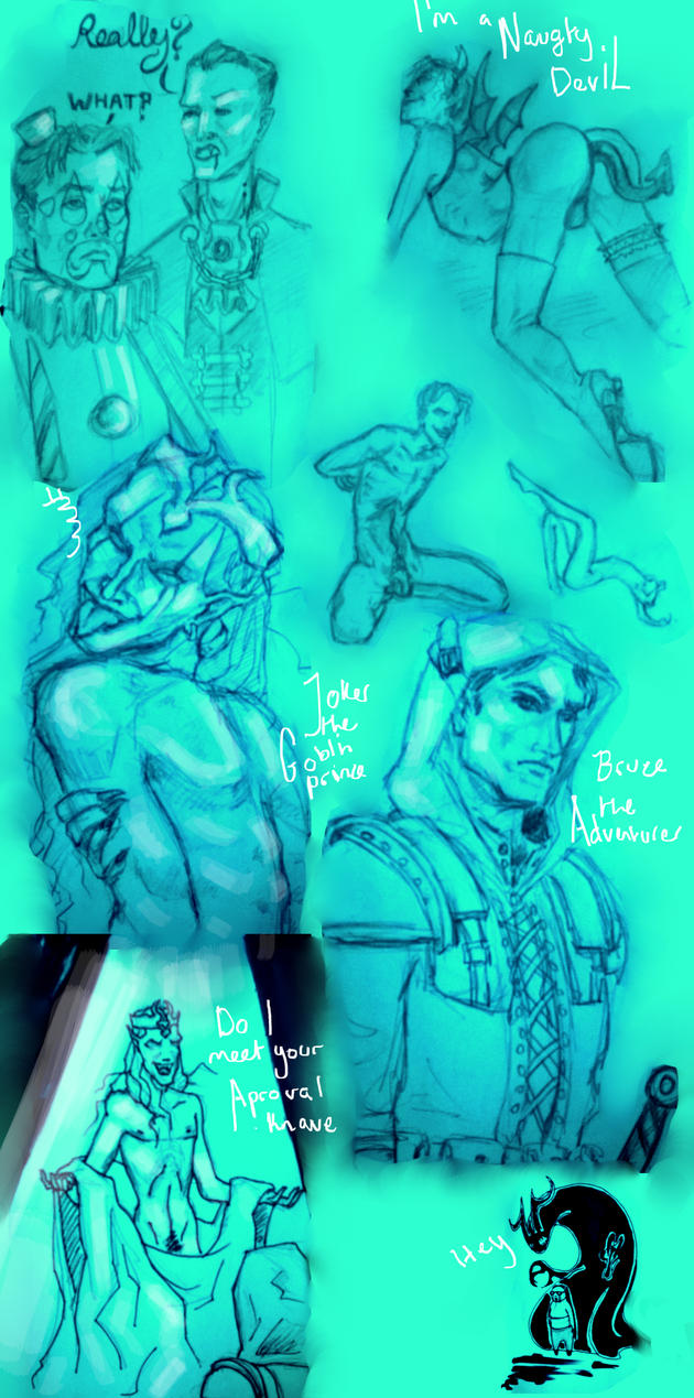 Jb Halloween Sketch by tormentedshadow
