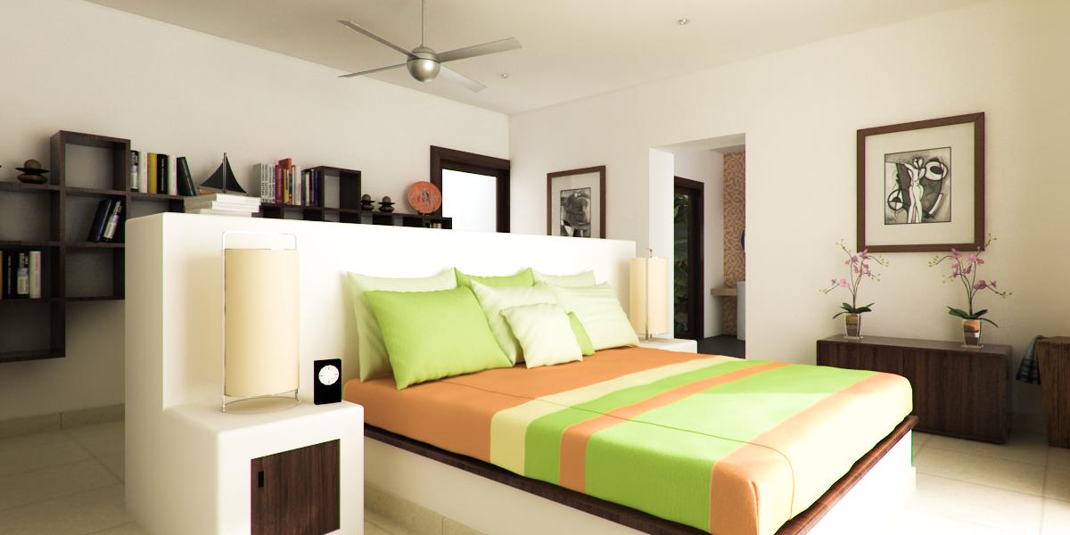 Interior Bedroom Vray