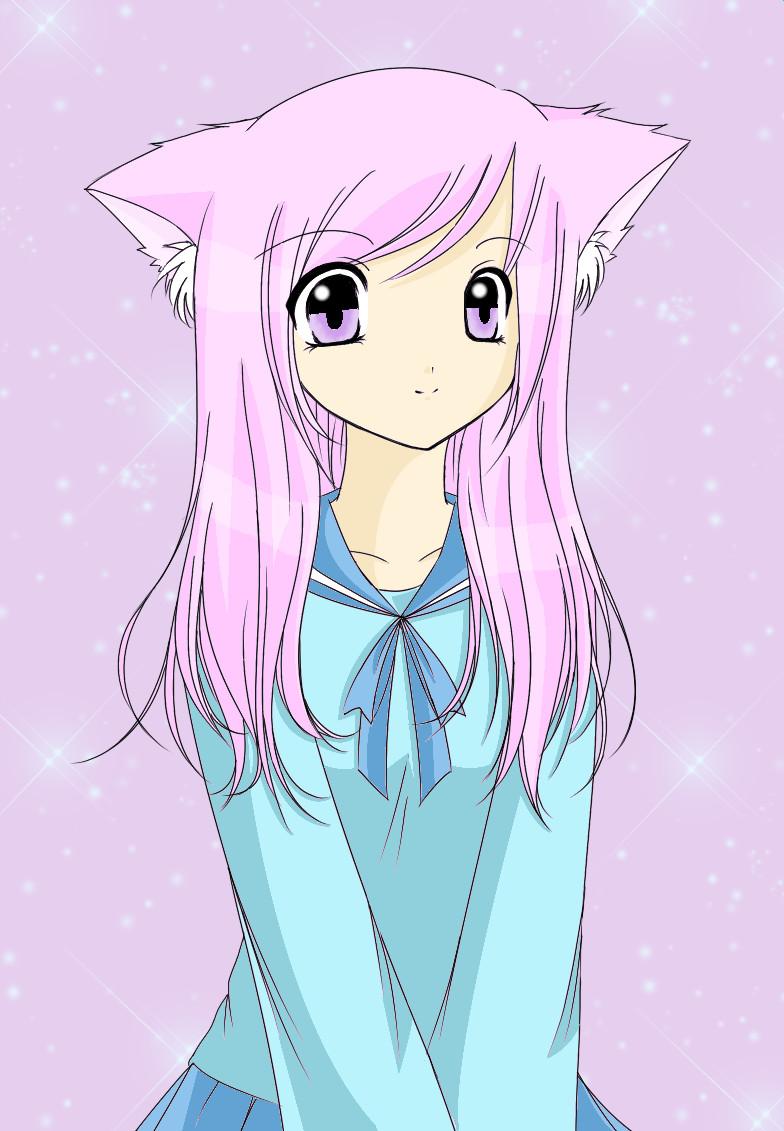 Cat Girl by strawberrycake by crazy4anime09