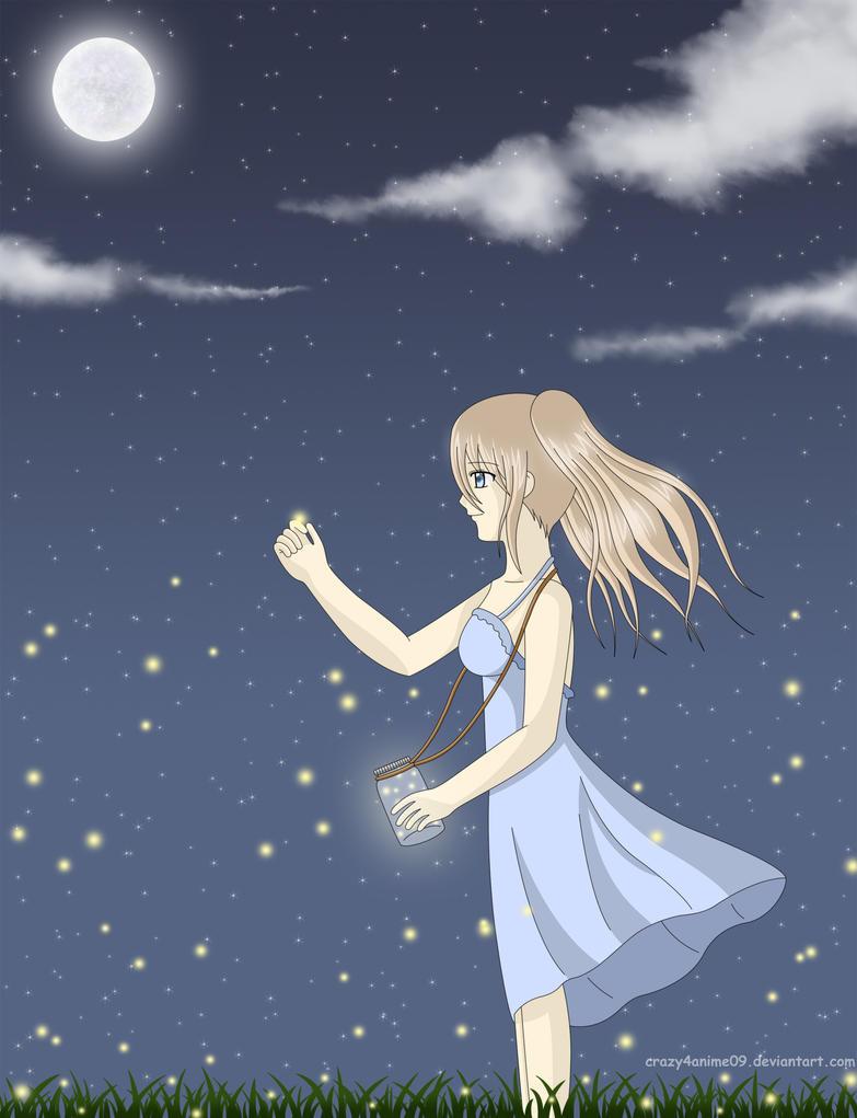 Fireflies by crazy4anime09