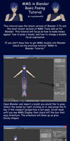 MMD in Blender Basic Posing Tutorial by crazy4anime09