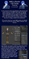 MMD in Blender 2.82 Posing Tutorial