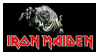 Iron Maiden Stamp by Voltage7625
