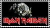 Iron Maiden Stamp by Voltage7625