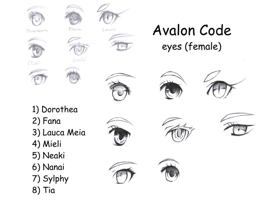 Avalon Code Eyes (female) by Shiranova