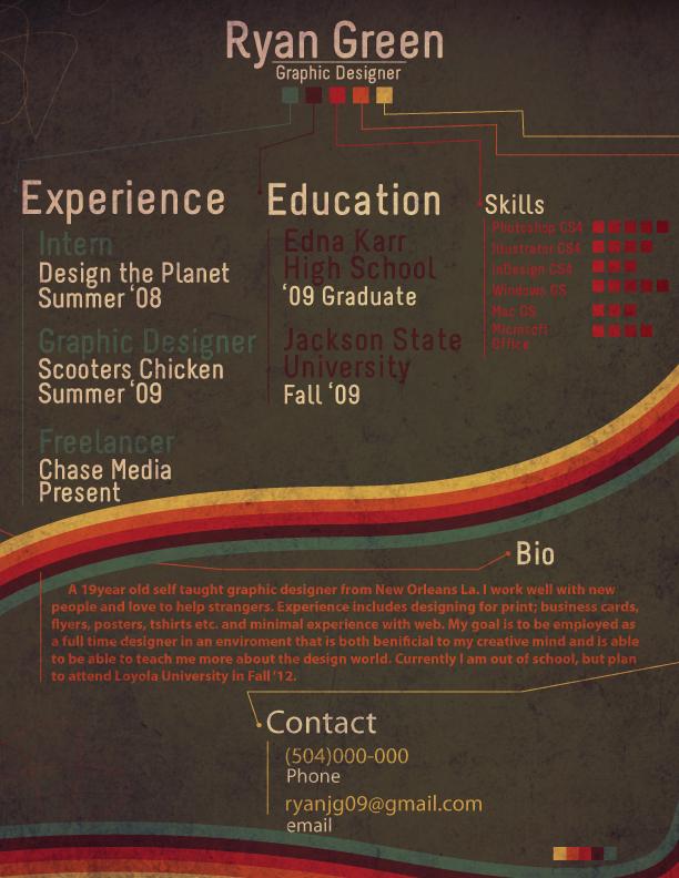 Resume 2010 by stillChase-in