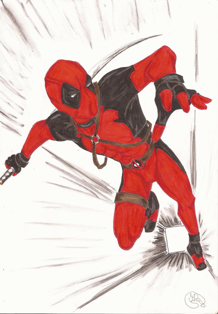 Deadpool #2 by MorrigainCrow