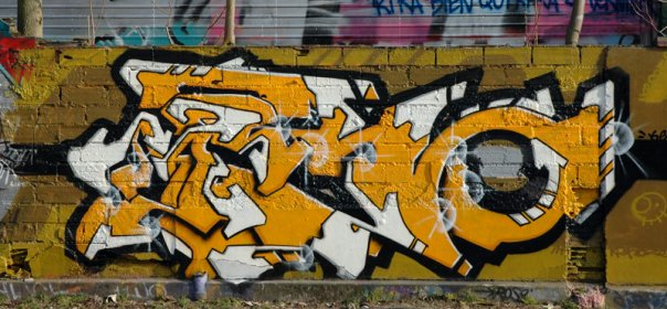 Lettrage 'KERO' by Kerozener