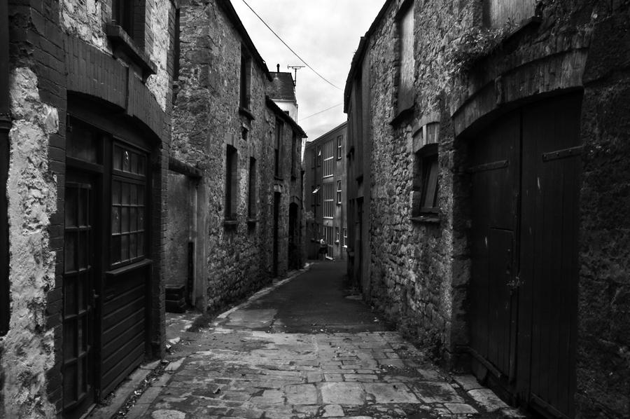 Old Stone Alley by mezzacaine on DeviantArt