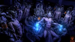 TransHuman_Deus.exe-CD-Artwork by FabioListrani
