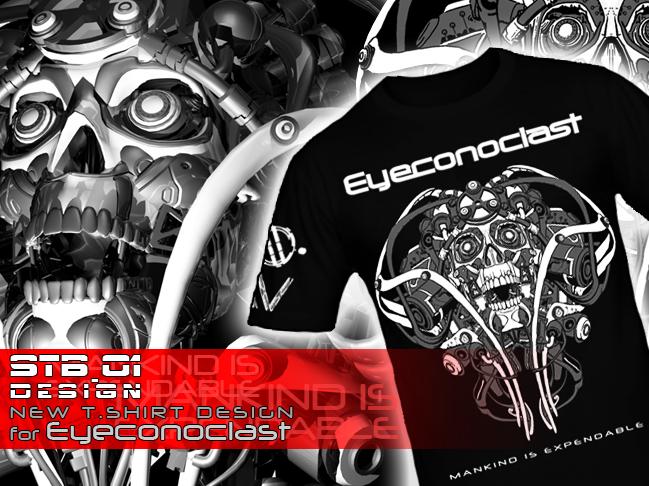 EYECONOCLAST T-SHIRT Design by FabioListrani
