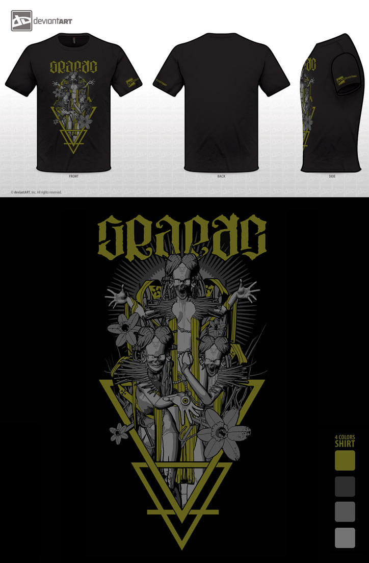 GRAEAE Shirt by FabioListrani