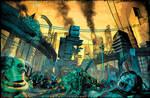 ZOMBIES VS ROBOTS - No Man's Land - cover