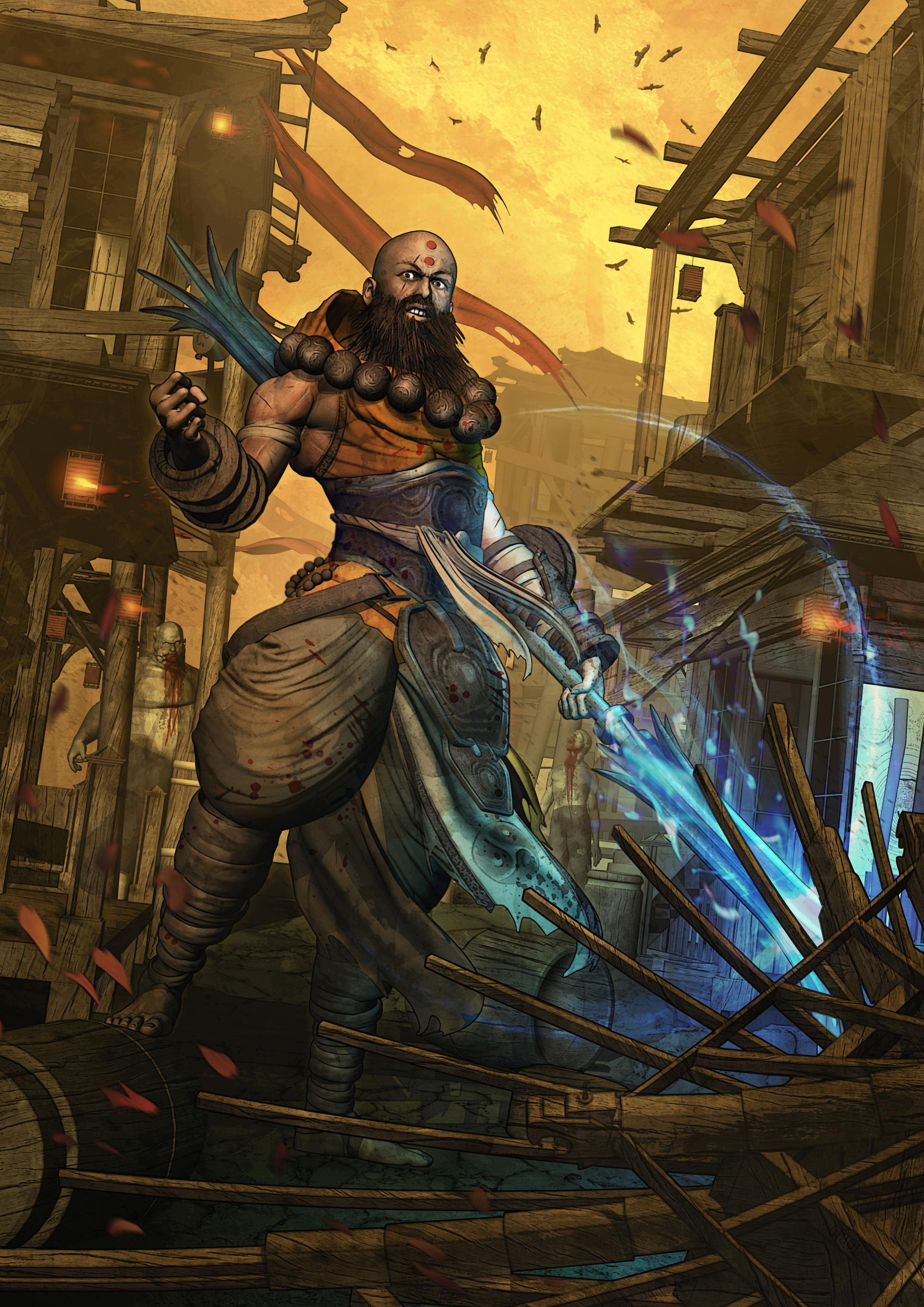 Diablo III - MONK - Reaper of Souls by FabioListrani