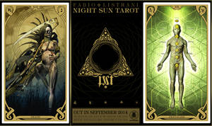 NIGHT SUN TAROT - XIII - VIIp by FabioListrani