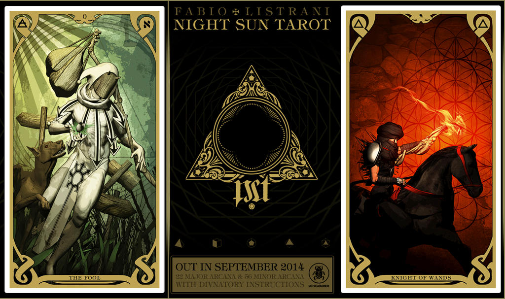 NIGHT SUN TAROT by FabioListrani