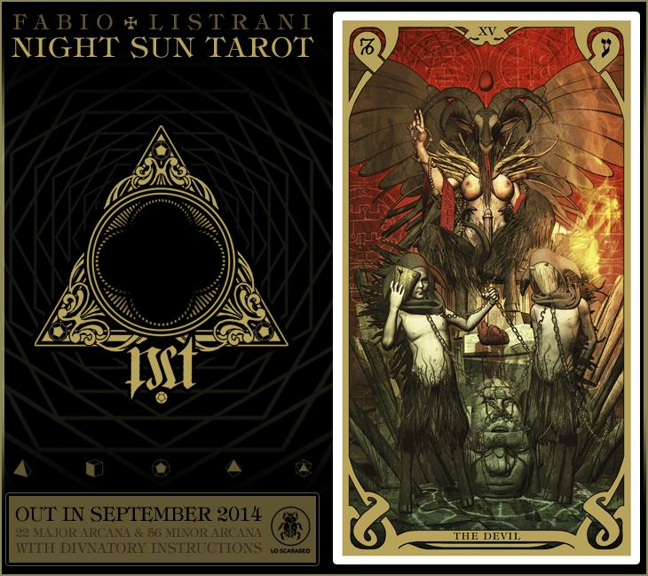 NIGHT SUN TAROT - XV by FabioListrani