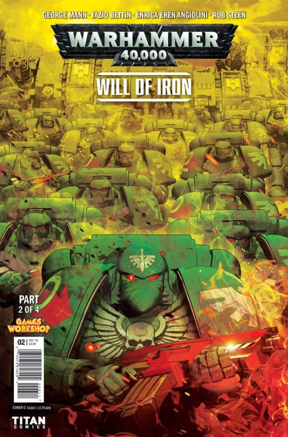 WARHAMMER 40k - Will of Iron #02 by FabioListrani