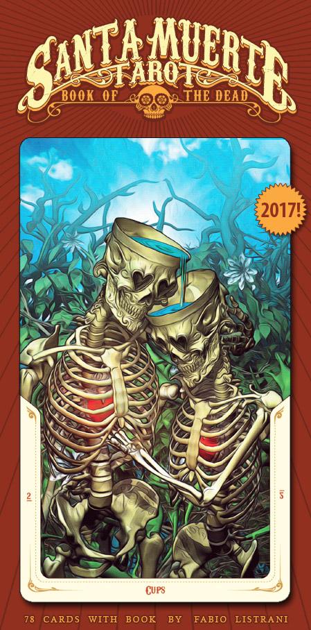 SANTA MUERTE TAROT: Book Of The Dead By FabioListrani On