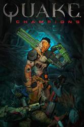 Quake Champions #01 by FabioListrani