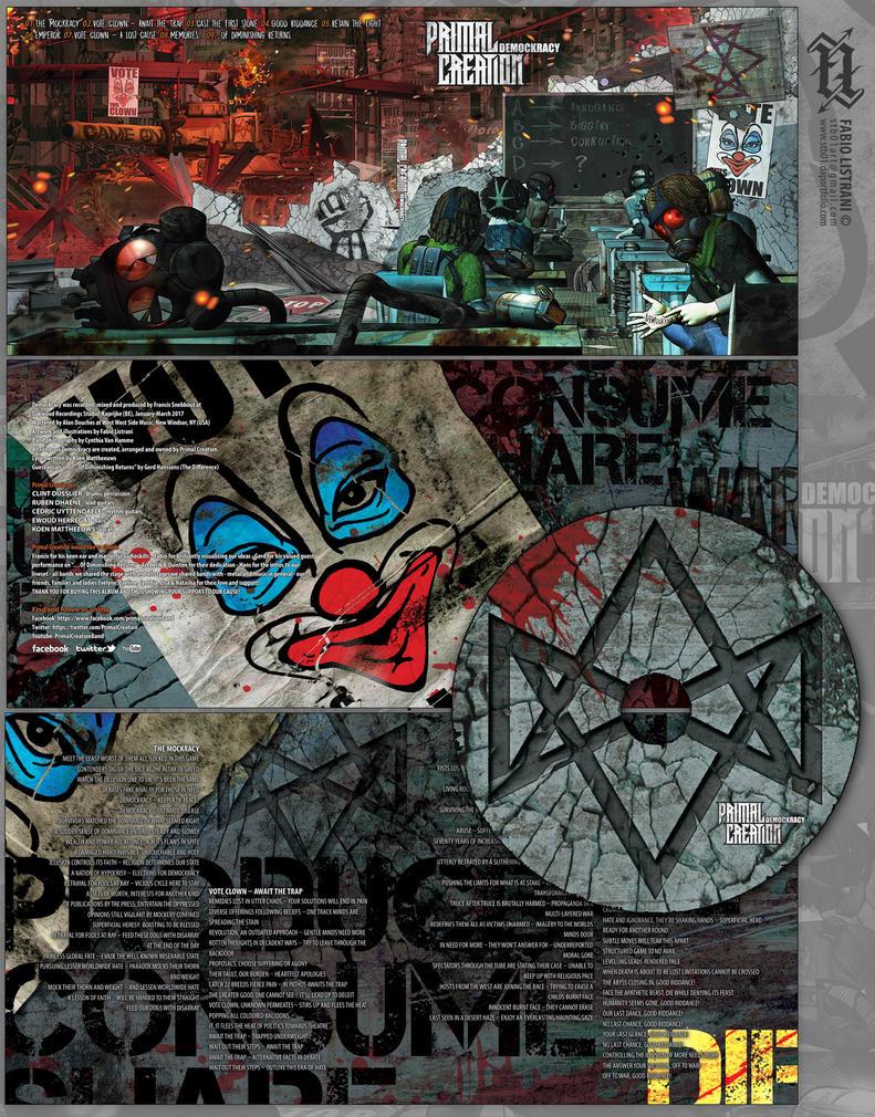 Primal Creation: CD-Artwork by FabioListrani