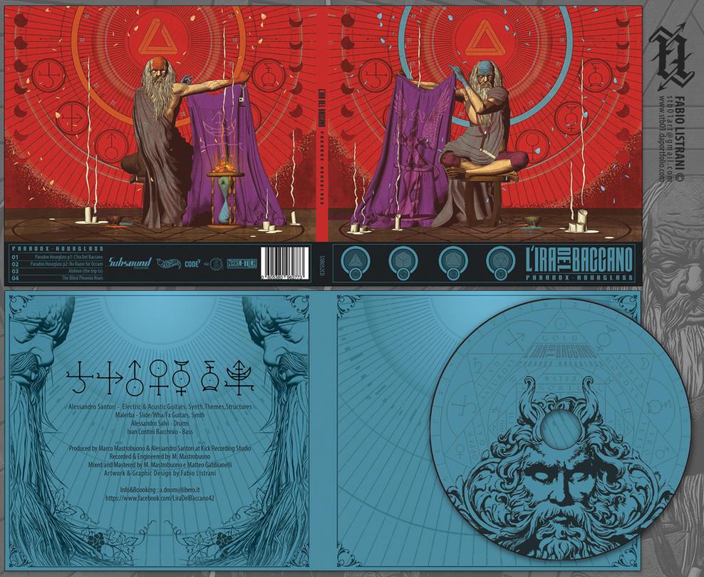 L'IRA DEL BACCANO: CD-Artwork by FabioListrani