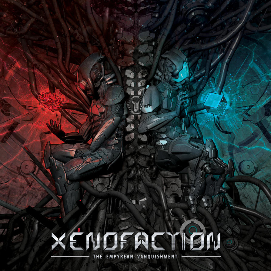 XENOFACTION: CD-Artwork by FabioListrani