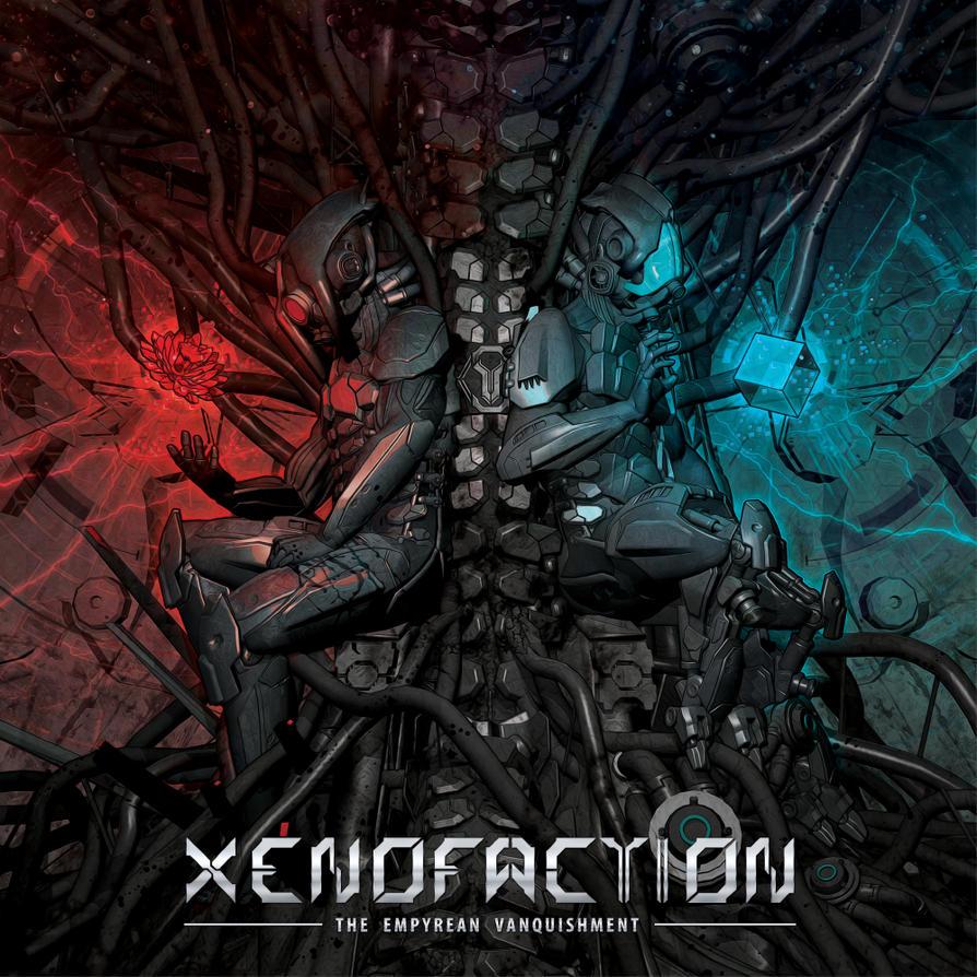 XENOFACTION: CD-Artwork by FabioListrani