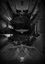 GOETIA - The Black Book - 39. Malphas by FabioListrani