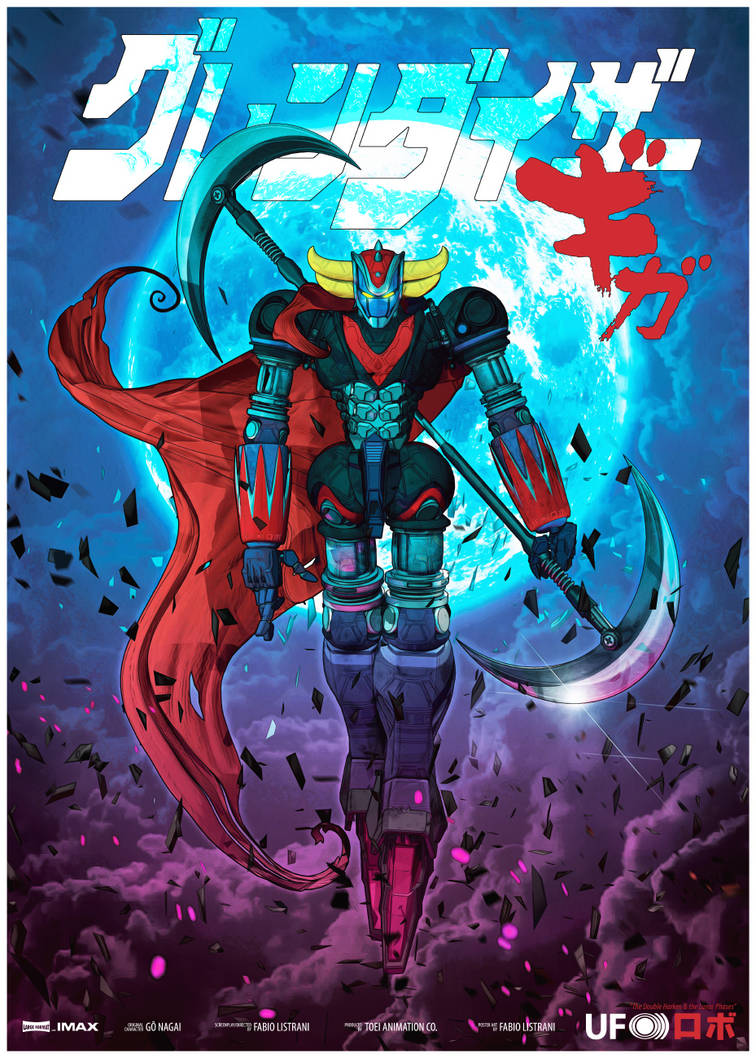 GRENDIZER - The Double Harken and the Lunar Phases by FabioListrani