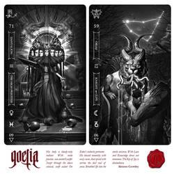 GOETIA: Tarot in Darkness by FabioListrani