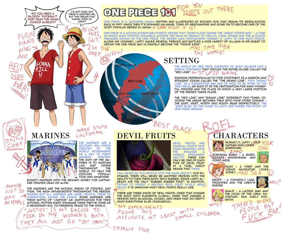 One Piece 101 by JaredofArt